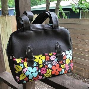 Paul Frank Bags - Rare! Paul Frank brown daisy purse hand vegan